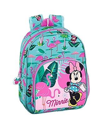 """Minnie Mouse """"Palms"""" Oficial Mochila Infantil 280x100x340mm por Safta"""