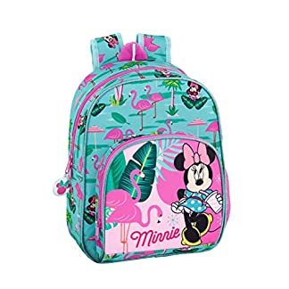 Minnie Mouse «Palms» Oficial Mochila Infantil 280x100x340mm