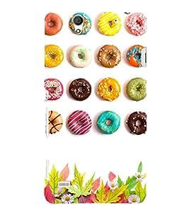 Colourful Doughnuts 3D Hard Polycarbonate Designer Back Case Cover for Sony Xperia C4 Dual :: Sony Xperia C4 Dual E5333 E5343 E5363
