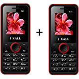 I KALL K24 1.8 Inch Display Set Of Two Mobile - Red