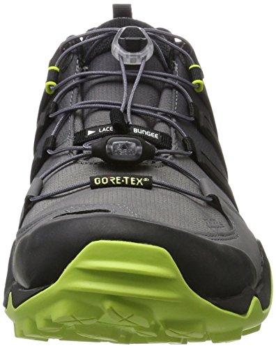 adidas Terrex Swift R GTX, Chaussures de Fitness homme Noir (Core Black/core Black/semi Solar Yellow)