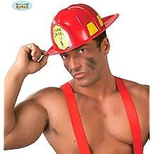 Casco bombero americano