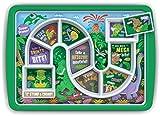 Fred & Friends Kinder-Tablett fürs Abendessen, Melamin, Mehrfarbig, 30 x 21.2 x 2.5 cm