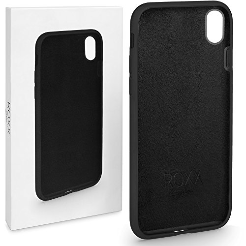 ROXX Hard Case Silikon Hülle | Kompatibel mit Apple iPhone X | Wie das Original nur Besser | Testsieger