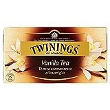 Twinings Tè Nero Gusto Sensuale della Vaniglia - Scatola da 25 Filtri