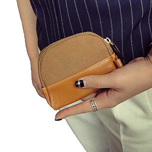 Zeafin Damen Brieftasche, Geldbeutel aus Leder Multifunktion mit ...
