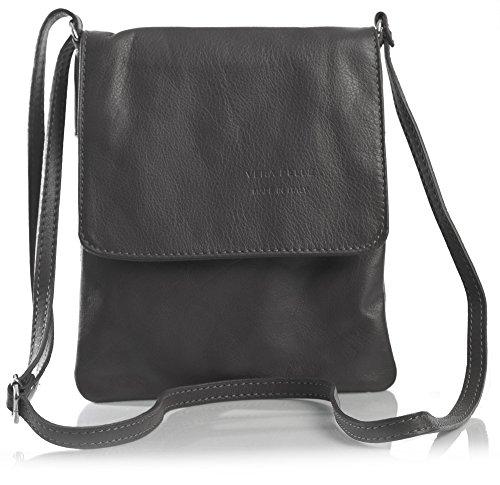 Big Handbag Shop - Borsa a tracolla donna Coffee