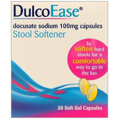 DulcoEase Soft Gel 30 Constipation Relief Capsules