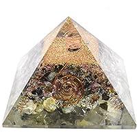 Orgonite Pyramid - Perhnite + Multi Tourmaline 3-3.5 inch Chakra & Reiki Healing Aura Cleansing Crystal. preisvergleich bei billige-tabletten.eu