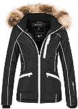 Navahoo Damen Designer Winter Jacke warme Winterjacke Parka Mantel B638 1