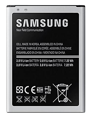 Samsung NFC/LTE 1900mAh Battery for Galaxy S4 Mini - Black (4 Terminals)