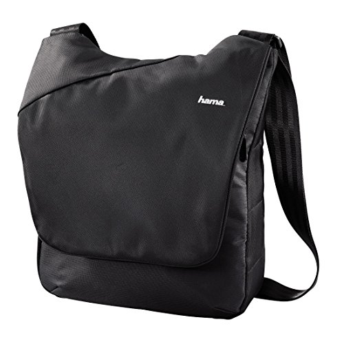Hama 2 in1 Kamera-Schultertasche/Rucksack für eine kompakte Systemkamera, inklusive Tabletfach, Citytour 140, Schwarz