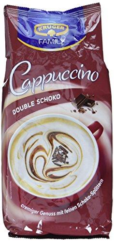 KRÜGER Family Cappuccino Double Schoko, 4er Pack (4 x 0.5 kg)