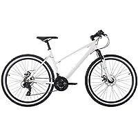 KS Cycling 242M VTT Semi-Rigide Femme, Blanc, 26