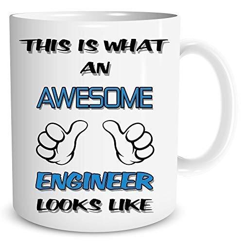Neuartige Tasse Toll Ingenieur Kaffe Tee Lustig Erwachsener Humor Arbeit Tasse WSDMUG772