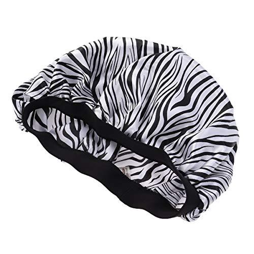 Lurrose Sleeping cap hat satin cap mujeres niñas