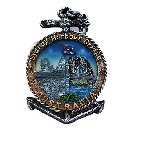 3D Sydney Harbour Bridge Australien Kühlschrank Magnet Reise Aufkleber Souvenir, Home & Küche Dekoration Sydney Harbour Bridge Kühlschrank Magnet