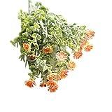 VWTTV wildes Chrysanthemeblume menschliche künstliche Blumen Simulation Blume künstliche Blume Chrysanthemum kleine Hochzeit Bouquet Home Decoration