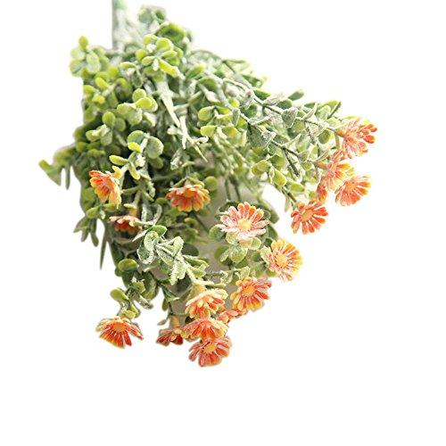 Über Sie Wild Kostüm - VWTTV wildes Chrysanthemeblume menschliche künstliche Blumen Simulation Blume künstliche Blume Chrysanthemum kleine Hochzeit Bouquet Home Decoration