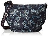 Oilily Damen Groovy Diaperbag Lhf Rucksackhandtasche, Blau (Dark Blue), 14x29x40 cm