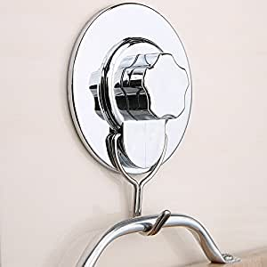 Suction Cup Wall Hooks Hangers Bathroom Kitchen Towel Robe
