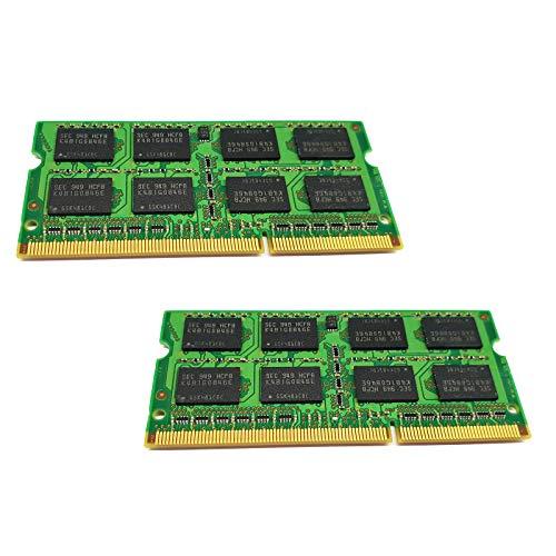 dekoelektropunktde Toshiba Satellite A505-SP6022M L670D-102 C660D Speicher | 8GB KIT Dual Channel (2X 4GB) Ram Speicher Arbeitsspeicher SODIMM PC3 DDR3 Memory Upgrade für