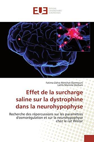 Effet de la surcharge saline sur la dystrophine dans la neurohypophyse: Recherche des répercussions sur les paramètres d'osmorégulation et sur la neurohypophyse chez le rat Wistar (Omn.Univ.Europ.)