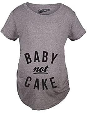 Crazy Dog Tshirts Maternity Baby Not Cake Funny Pregnancy Tees for Pregnant Announcement Funny T Shirt - Divertente...