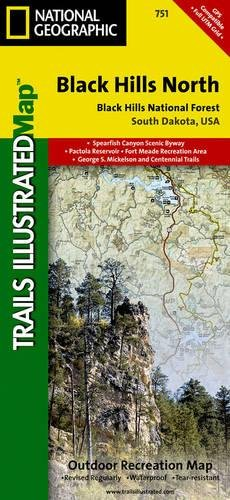 Black Hills, Northeast: National Geographic Trails Illustrated National Parks (National Geographic Trails Illustrated Map, Band 751)