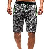 Zolimx trunks unterwäsche herren boxershorts shorts ausbuchtung pouch modal unterhose männer sportunterwäsche verlängern eis seide mesh atmungsaktiv boxershorts lauf hose