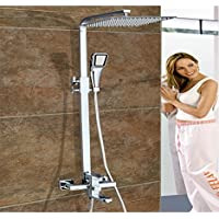 sun-solid Combo ultra-sottile soffione doccia bagno lusso
