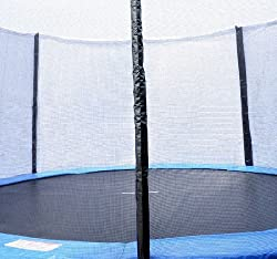 Homcom 10ft Replacement Safety Trampoline Net With Enclosure