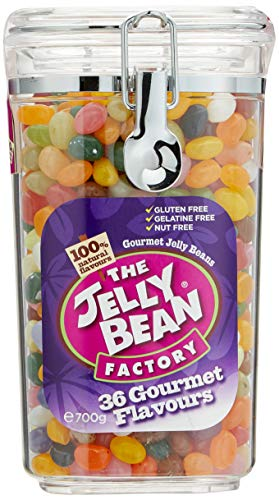 The Jelly Bean Factory 36 Gourmet Flavours 700 g Jar | Gourmet Jelly Beans