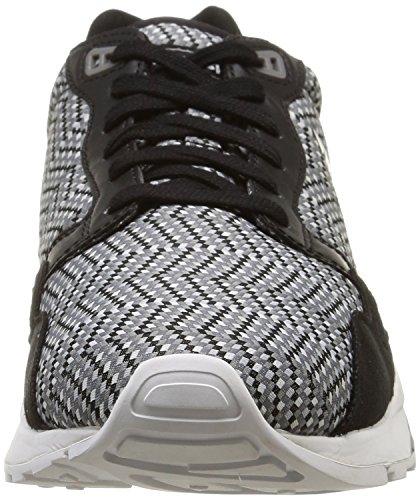 Le Coq Sportif - Lcs R900, Sneaker Uomo Nero (noir (black/white/jacquard))