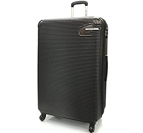 Super Lightweight ABS Durable HardShell Travel Hold Check In Luggage Suitcase with 4 Wheels & Built-in 3 Digit Combination lock in XL(32