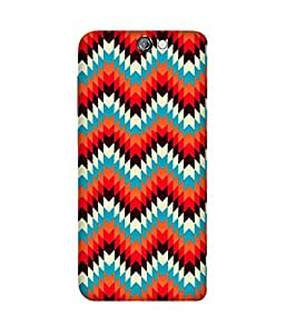 Aztec Tribal HTC One A9 Printed Back Cover