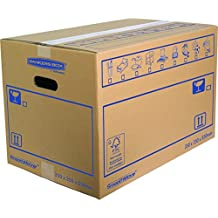 Bankers Box 35 x 35 x 55 cm Smooth Move Double Walled Moving Box (Pack of 10)