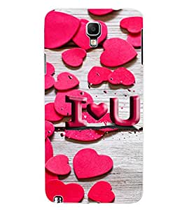 ColourCraft Love Pattern Design Back Case Cover for SAMSUNG GALAXY NOTE 3 NEO N7505