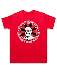 Inspired by Bullseye Jim Bowen Out Of Black In The Red Unofficial Mens T-Shirt