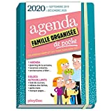 Agenda de poche de la famille organisée 2020 - Bleu (de sept 2019 à décembre 2020): S'organiser n'a jamais été aussi simple !