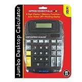 Desktop Calculator 8 Digit Display Memory Functions Jumbo Sized Office Essential
