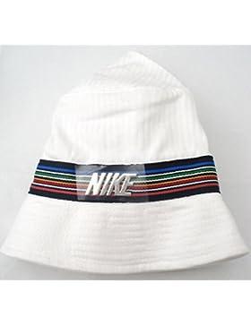 Nike - Gorro, unisex, color blanco, cenefa multicolor, hombre, blanco