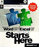 Microsoft Word 97 / Microsoft Excel 97 In-Depth Training Starts Here, 1 CD-ROM Comprehensive, interactive training. For Windows 95/NT 4.0 w. Service Pack 3 Bild