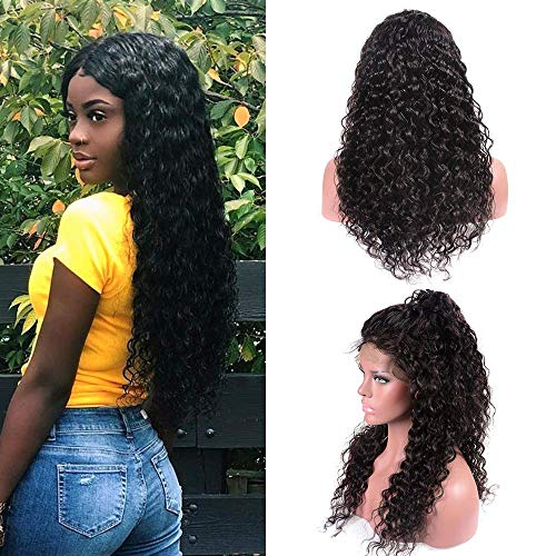 Curly Wave Lace Front Wigs 16-26Inch 10A Pre-Plucked 130{6cc68427d27eeaebba2b793bc32c8cb56bb14910fa112e6103515ea5036992b9} Density Virgin Curly Wave Human Hair Lace Frontal Wigs Mit Baby Hair,18INCH