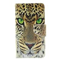 LG G4 Case Cover + Free Tempered Glass Screen Protector, BoxTii® [Slim Fit] PU Leather Flip Wallet Case with [Card/Cash Slots] [Kickstand] [Magnetic Closure], Colorful Pattern Anti-Scratch Design Elegant Folder Folio Wallet for LG G4 (#10 Tiger)