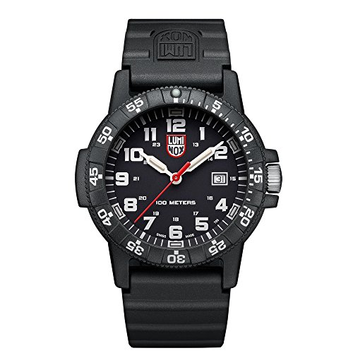 Luminox Mens Analogue Classic Quartz Connected Wrist Watch with PU Strap XS.0321.L