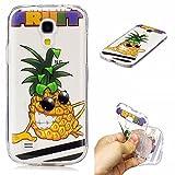 Coque Samsung Galaxy S4 mini (4,3 Pouces), Anlike Phone Case TPU Gel Ultra Fin Dessin...
