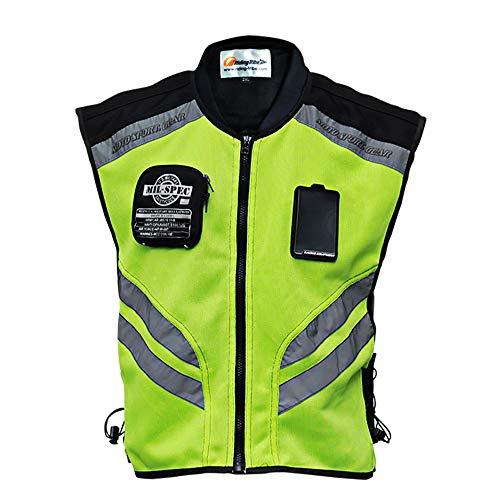Chaleco reflectante; nuevo diseño; chalecos de seguridad visibles para motocross/carretera/motociclismo/carreras de motos/viajes/paseos...