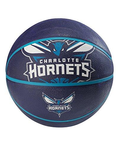 NBA Charlotte Hornets spaldingteam Logo, Multi, 74,9cm - Pumpe-basketball-schuh