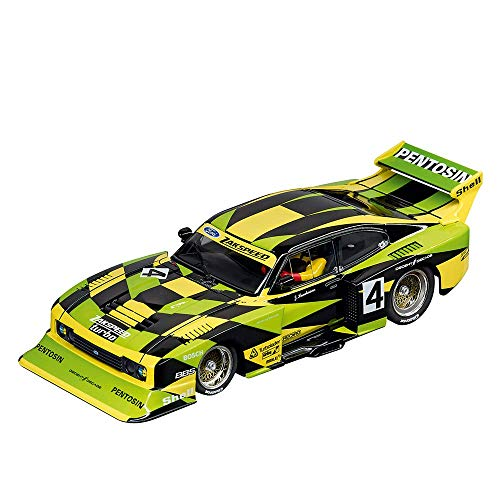 Track Carrera Digital 132 Slot (Carrera 20030832 Ford Capri Zakspeed Turbo Jürgen Hamelmann-Team, No. 4